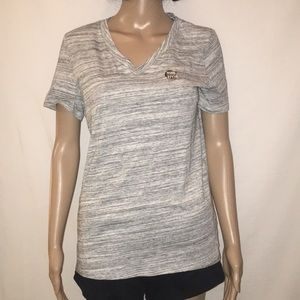 New Victoria's Secret Pink V Neck T Shirt Medium